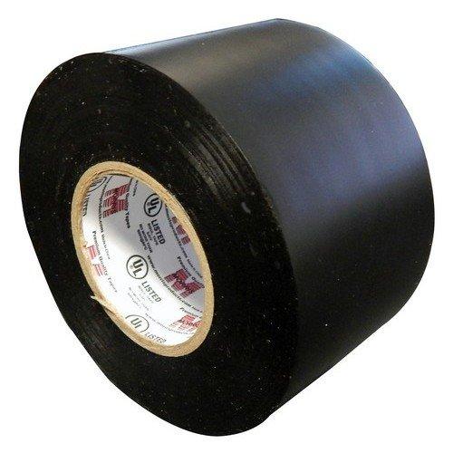 Morris 60270 Black Pipe Wrap Tape, 10 mil, 100' Length, 2