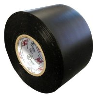 Morris 60270 Black Pipe Wrap Tape, 10 mil, 100' Length, 2 ...