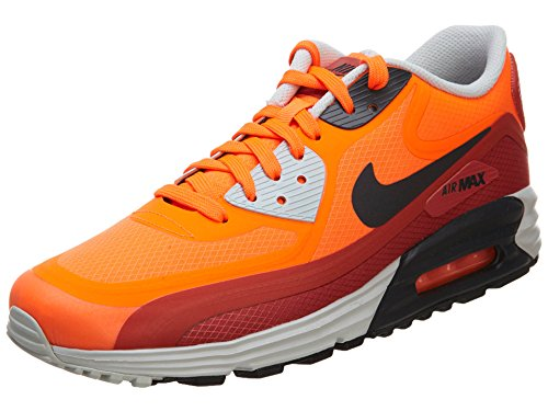 Air Max Lunar90 Wr  Color: Hyper Crimson/Red Clay/Light Ash Grey/Dark Ash