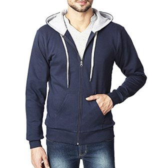 Rodid Full Sleeve Solid Men's Sweatshirt (B-HWSSWTZ-NB-M)