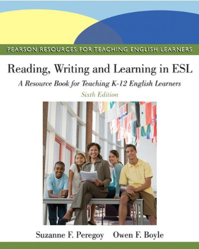 ^^read Online Reading, Writing, And Learning In Esl A Resource Book For Teaching K12 English