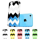 ESR the Beat Series Hard Clear Back Cover Snap on Case for iPhone 5C (Zagz)