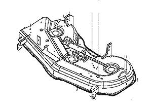 Amazon.com : John Deere OEM Replacement Mower Deck Shell