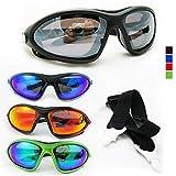 Kitesurfing Kiteboarding Men Sunglasses Sports Black UV400 Fashion Shades Wrap !