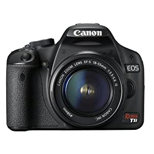 Canon EOS Rebel T1i 15.1 MP CMOS Digital SLR Camera