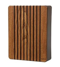 NuTone LA317BL Decorative Wired Two-Note Door Chime, Black ...