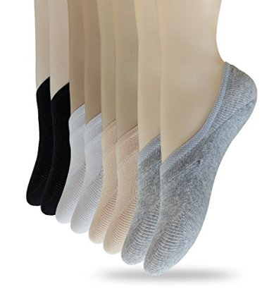 Eedor-Womens-3-to-8-Pack-Thin-Casual-No-Show-Socks-Non-Slip-Flat-Boat-Line