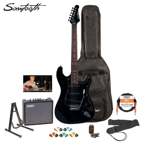 electric guitar kits perfect electric guitar for beginners. Black Bedroom Furniture Sets. Home Design Ideas