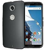 【Homu Homu】Nexus 6【全3色】スタイリッシュTPUケース スリム カバー TPUマットケース TPUカバー シリコンケース裏面サラサラ(ブラック)161-1