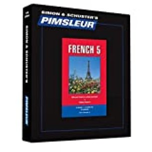 Pimsleur French Level 5 CD: Learn to Speak and Understand French with Pimsleur Language Programs (Comprehensive) (English and French Edition)
