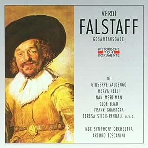 Verdi Falstaff  Giuseppe Valdengo, Herva Nelli Amazon