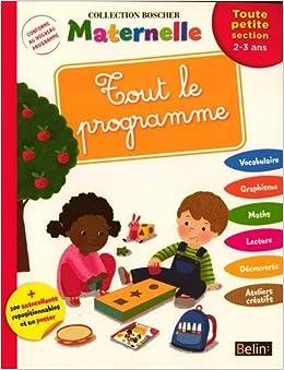 Livre - Cahier pour maternelle à la maison (Bosher)