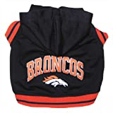 Pets First NFL Denver Broncos Hoodie, Small