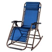 PARTYSAVING Infinity Zero Gravity Rocking Chair Outdoor