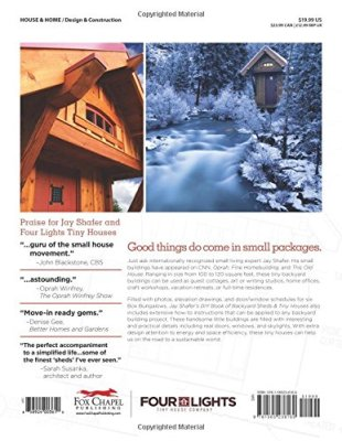 Jay Schaffer Backyard Shed and Tiny House Back Cover