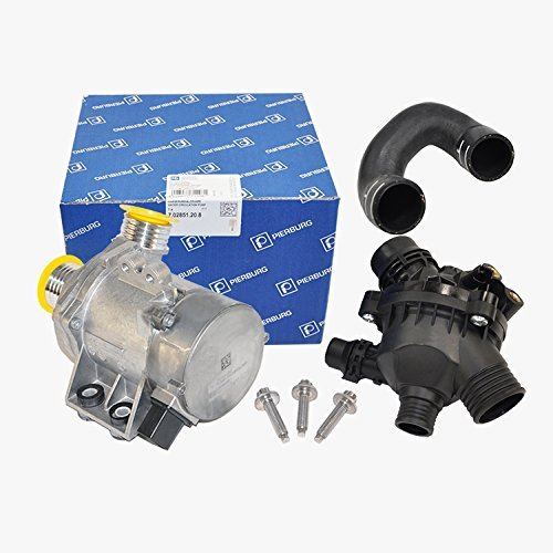 Bmw Engine Water Pump Electric W Bolts + Thermostat