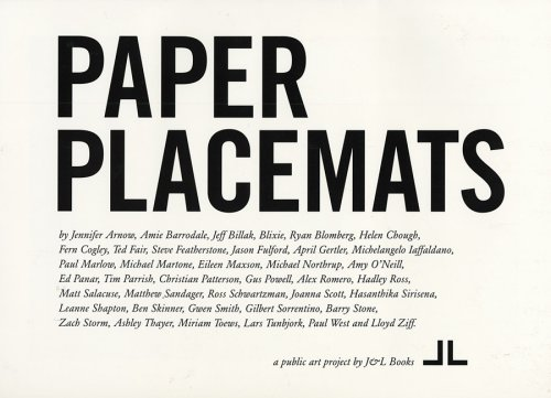 Paper Placemats by Jason Fulford