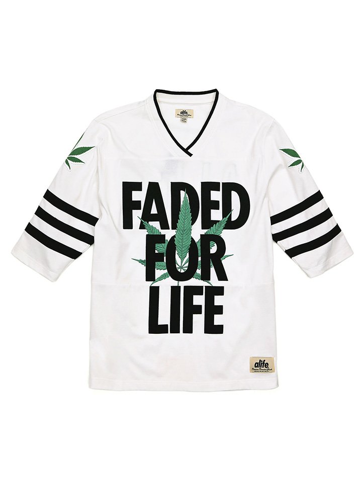 Alife Men's Faded For Life Jersey