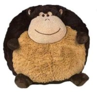Buy American Mills 15-Inch Round Plush Monkey Pillow ...