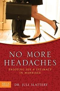 """Cover of """"No More Headaches: Enjoying Sex..."""