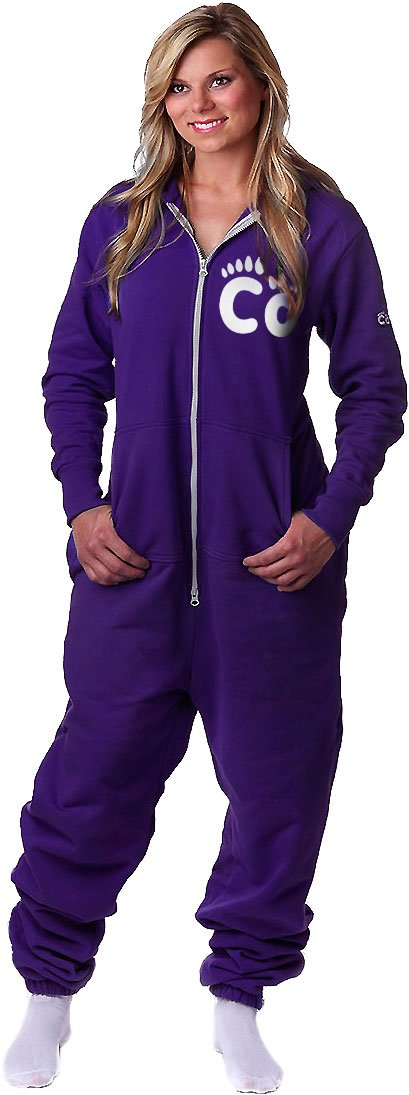 CoZone Global Unisex Hooded Jumpsuit Cozy Feet Onesie