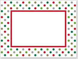 Holidots Photo Frame Cards Christmas Cards Holiday Cards