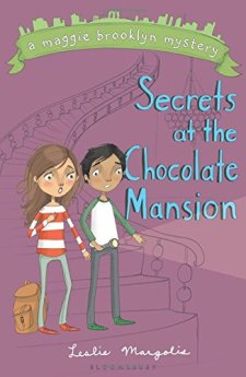 Secrets at the Chocolate Mansion (A Maggie Brooklyn Mystery) by Leslie Margolis| wearewordnerds.com