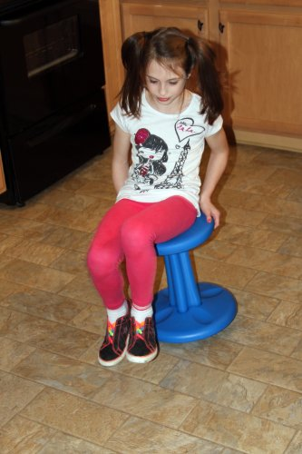 wobble chair adhd covers hire brisbane kore active - grey teen (20in) furniturendecor.com