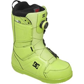 DC Men's Scout Snowboard Boot, Lime, 10D