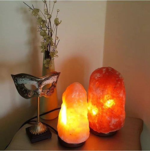 5-7kg Natural Pink Himalayan Crystal Rock Salt Lamp with Dimmer ...