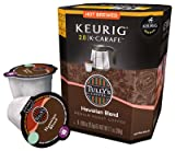 Tully's Hawaiian Blend Keurig K-Carafe Pack, 8 Count