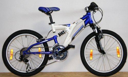 spyder 20 zoll 50 8 cm alu kinderfahrrad montainbike fully. Black Bedroom Furniture Sets. Home Design Ideas