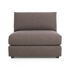 Crate And Barrel Armless Chair Kohls Rocking Cushions Drake By