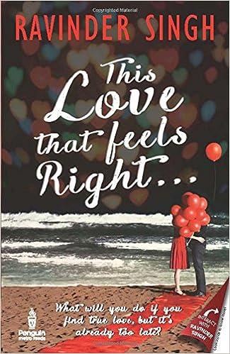 Ravinder Singh Books List : This Love that Feels Right