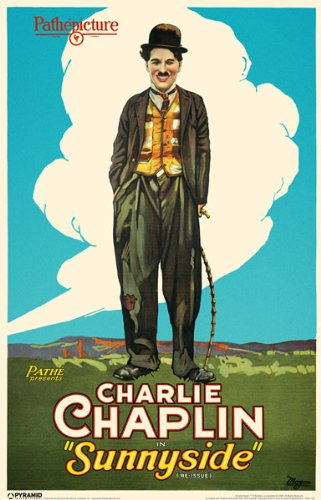 movie poster - Charlie Chaplin in Sunnyside