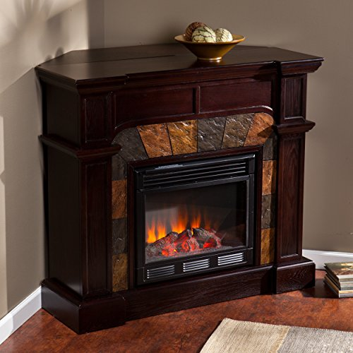 Electric Fireplace TV Stands Corner Heater Antique Firebox Fireplaces 47 In Hold  eBay
