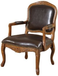 William's Home Furnishing Traditional Studded Occasional ...