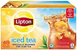 Lipton Black Iced Tea, Family Size 48 ct