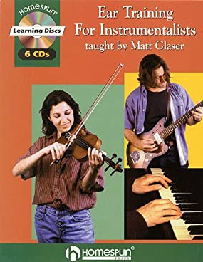 No matter what instrument or type of music you play or sing, this six-CD course in musicianship, theory and ear training will develop your skills, help you create and improvise solos and expand your musical consciousness. Through a progressive series of interactive exercises, Matt Glaser teaches you to play or sing anything you hear.  Over weeks and months of studying these lessons, you'll develop the ability to recognize pitches, intervals and phrases, transcribe instrumental solos and repeat complex rhythms and meters.