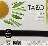 Starbucks Tazo Tea * Zen * Green Tea, 16 K-Cups for Keurig Brewers