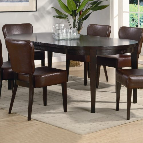 Buy Low Price AtHomeMart Contemporary Oval Leg Dining  : 51VEIj RxqLSL500 from www.diningfurnituremart.com size 500 x 500 jpeg 44kB