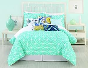 Amazon Com Trina Turk 2 Piece Trellis Comforter Set Twin