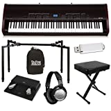 Kawai MP10 Stage Piano ESSENTIALS BUNDLE w/ Stand, Bench & Headphones