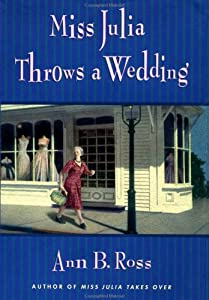 "Cover of ""Miss Julia Throws a Wedding"""