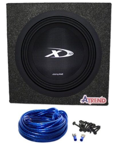 dual voice coil subwoofer box 1953 chevy truck wiring diagram package brand new alpine type x 10 swx 1043d 4 ohm 3 and also read review customer opinions just before buy 000 watt car atrend