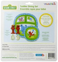 Munchkin Sesame Street Dining Set Home Garden Kitchen ...