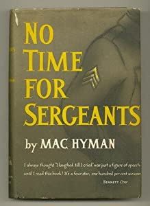"Cover of ""No Time for Sergeants"""