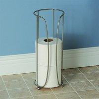 LDR Extra Toilet Paper Holder Brushed Nickel Finish ...