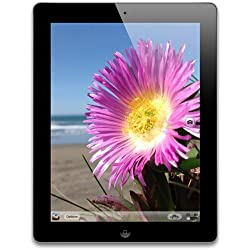 Apple iPad 4 with Retina Display 16GB Wi-Fi Only Tablet, Black (Certified Refurbished)