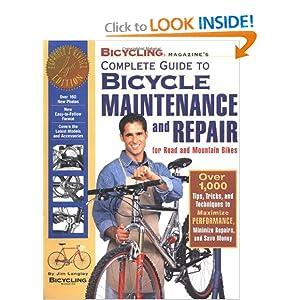Bicycling Magazines Bike Repair book